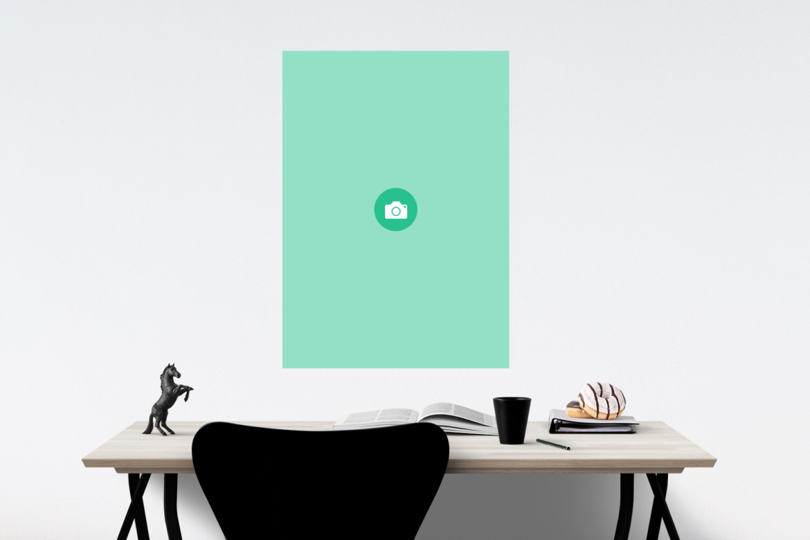 Free Classic Poster Frame Mockup